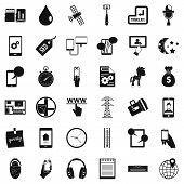Hardware Maintenance Icons Set. Simple Set Of 36 Hardware Maintenance Icons For Web Isolated On Whit poster