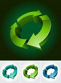 environmental 3d symbol