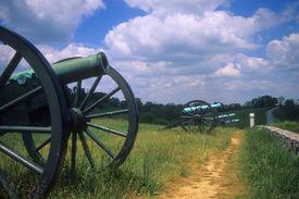 foto of rebs  - Napoleon artillery battery Antietam National Battlefield American Civil War Maryland - JPG