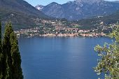 The town of Menaggio on lake Como in Italy