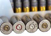 Closeup Bullet Shells