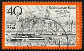 Postage Stamp Germany 1973 Rudesheim Am Rhein, Germany