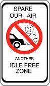 Idle Free Zone
