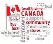 Small Business Canada Word Cloud