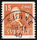 Postage Stamp Sweden 1939 Carl Von Linne, Linnaeus, Botanist