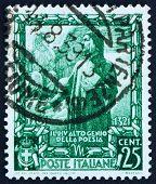 Postage Stamp Italy 1938 Dante Alighieri, Poet