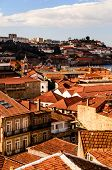 city roofs at Porto, Portugal
