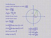 Mathematical Rules Trigonometry Geometry