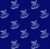 Christmas bells pattern .