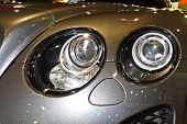 Bentley Continental Super Sport Gt's Headlights