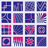 Abstract Logo Designs Set