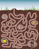 Mole Maze Game