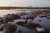 Minnesota Valley Wildlife Refuge And Bridge