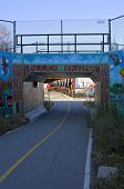 Menomonee Valley Passage On Bike Trail