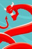 Devilish serpent