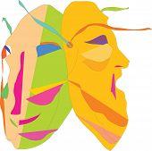 masks, theater,