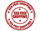 Tax Free Shopping-stamp