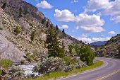 Yellowstone Np Road
