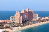Dubai, Uae. Atlantis From Above