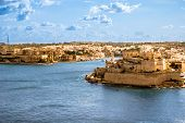 Grand Harbor, Valetta, Capital Of Malta