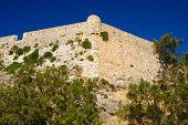 Fortress Fortezza In City Of Rethymno, Crete, Greece
