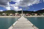 Village of the Anses d'Arlet, Martinique island, west indies