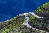 Dangerous Mountain Road