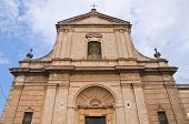 Mother Church. San Vito dei Normanni. Puglia. Italy.