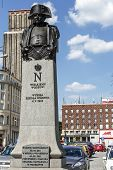 Statue To Napoleon Bonaparte In Warsaw