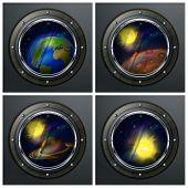 Four Round Portholes