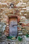 Weathered Door, Umbria, Italy poster