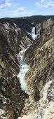 Yellowstone Lower Falls panorama 2