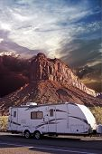 Rv In Canyonlands