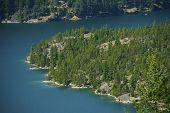 Diablo Lake Aerial Photo