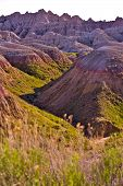 Rugged Badlands Beauty