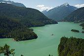 North Cascades Diablo Lake