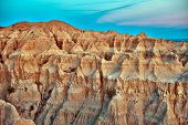 Badlands Erosion
