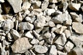 Grey stones background
