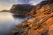 Earlier morning at Sleepy Bay, Freycinet National Park, Tasmania, Australia