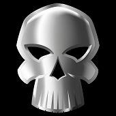 metal skull