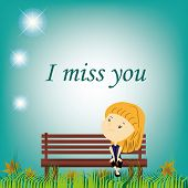 foto of miss you  - an  - JPG