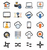 Collection of Network and VPN icons
