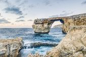 Azure Window In Gozo Island, Malta.