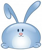 Cartoon bunny icon