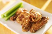 zesty garlic parmesan chicken wings