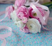 bouquet of buttercups