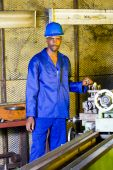 Lathe machine operator