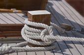 Moored Boat