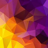 Hipster background made of triangles