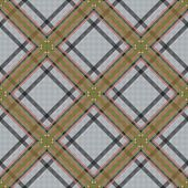 Diagonal Tartan Brown And Gray Fabric Seamless Texture